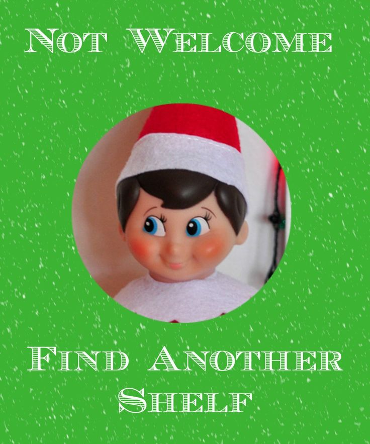 Love Life and Dirty Dishes - Why The Elf is Not Welcome on my Shelf