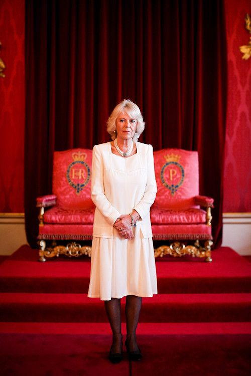 The Duchess of Cornwall, on behalf of Queen Elizabeth, hosted a reception for winners of The Queen's Commonwealth Essay Competition, Buckingham Palace, November 19, 2014