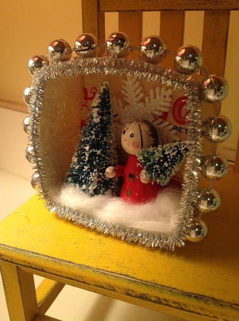Karol Ann - Christmas diorama