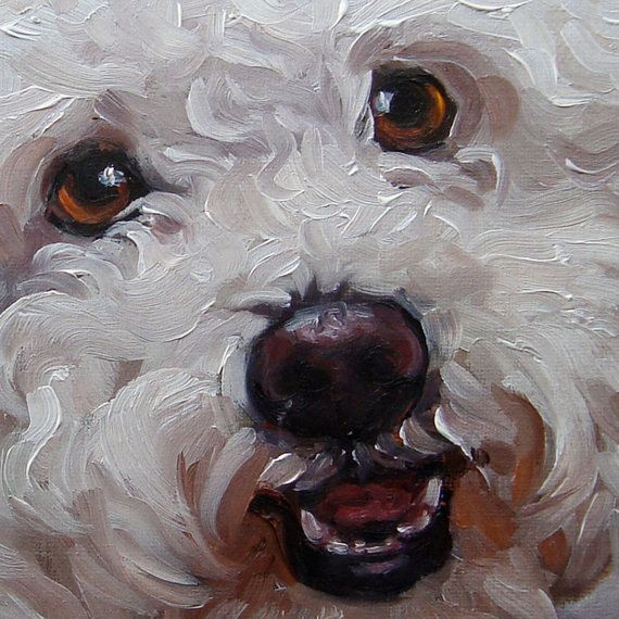 Pet Lovers custom Pet Portrait Oil Painting by by puciPetPortraits