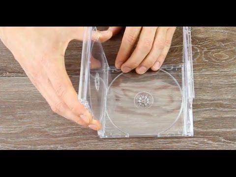 Así de simple puedes reciclar unas cajas de CDs vacías [Vídeo]  proZesa DIY reciclar video