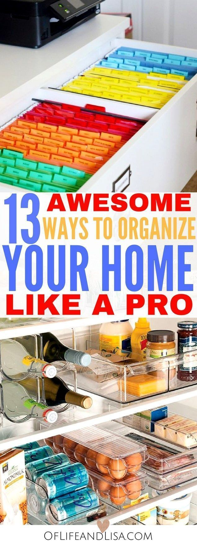 Learn how to organize your home like a professional. Check out these mesmerizing examples of perfectly organized spaces.