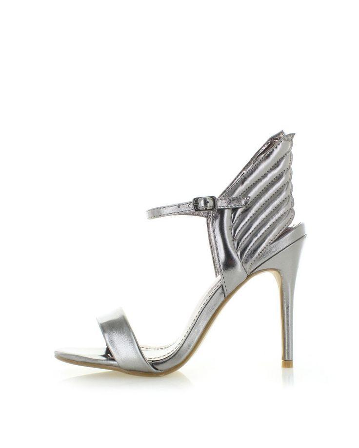 Sivé sandále Kamikana
