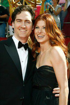 Debra Messing and husband Daniel Zelman