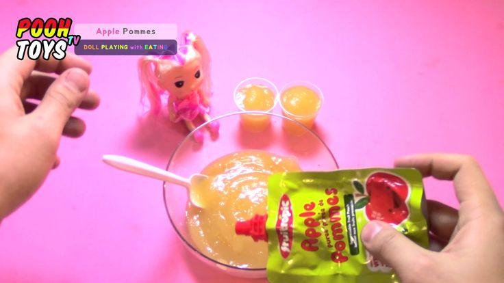 해도해도 너무 귀여운! How To Feed Your Doll ? Baby Food Play!17탄! 인형 이유식 놀이 비디오 P...