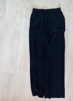 Летние широкие струящиеся брюки+(Pull
