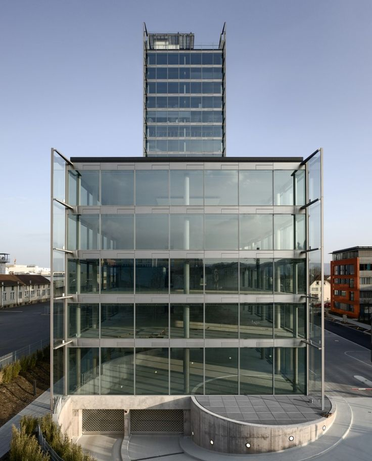 glass facade design office building.  glass built by murphy jahn in mhlhausenehingen germany with date images  rainer viertlboeck hegau toweru0027s design is a direct result of close collaboration  inside glass facade design office building