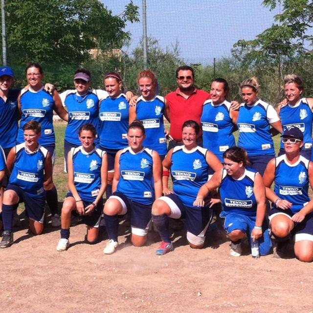 Con la squadra di Softball Tollo vincitrice del 9' torneo di Tollo.