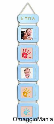Solo oggi Metro per segnare la crescita del bambino con sconto del 50%. Ottima idea regalo.  Nuovo appuntamento con le offerte giornaliere di Amazon.  Link: http://www.omaggiomania.com/giochi/calendario-dellavvento-amazon-ogni-giorno-un-gioco-offerta/