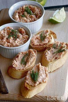 Как приготовить вкусный рыбный паштет. Рецепт