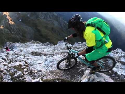 Vertriding - This is mountain biking on steep trails in challenging, high alpine areas. With our bikes we conquer lonely summits, then push our technical skills to the top during extreme descents. Together with VAUDE we realized a stunning film project in the Gschnitztal in Tyrol. http://www.vaude.com