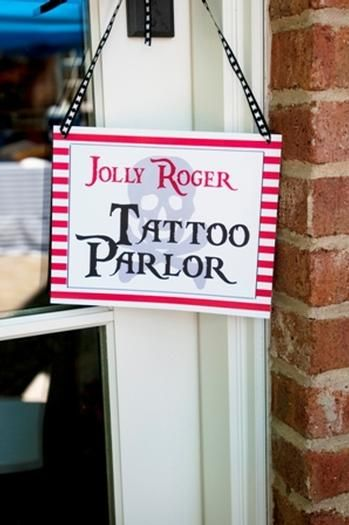 Set-up a tattoo station at the party - using childrens rub-on tattoos!!! ;)