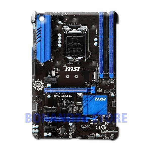 Ipad 2 / Ipad Mini 2 Back Case Z97 Guard Pro Customize Design Gaming Circuit #Generic
