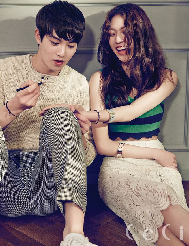 2015.06, CeCi, CNBLUE, Lee Jonghyun, Gong Seungyeon, We Got Married