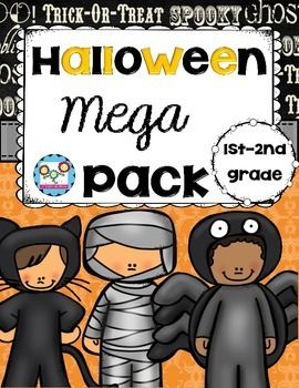 FREE!!!   Halloween Mega Pack:This is a sample of two of my best selling Halloween products! There are math, reading, and writing activities inside. I have a Mega Pack for grades 1-2 and a Mega Pack for grades 3-6.