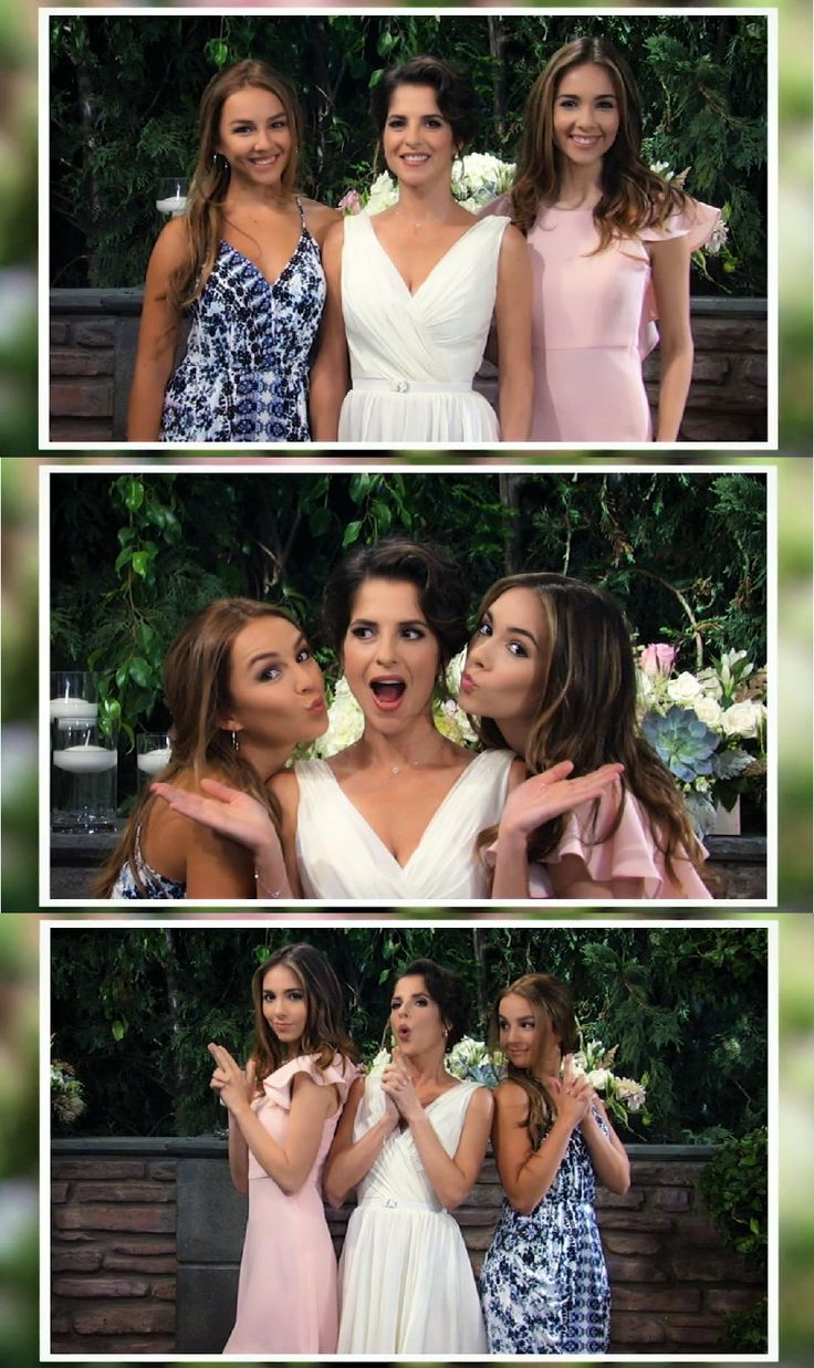 Sisters; Kristina Davis, Sam Morgan, and Molly Lansing<3 #JaSam's wedding day. #DavisGirls