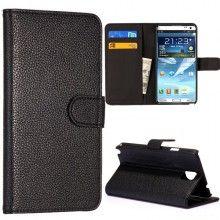 Capa Galaxy Note 3 - Carteira Preto  R$36,57