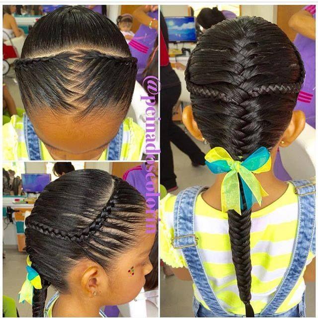 Bello Tbt Trenzas Trança Tresses Treccia Braids Girls Hair Girl Pretty Colorin Peluqueri Peinados Infantiles Peinados Con Trenzas Peinado Mariposa
