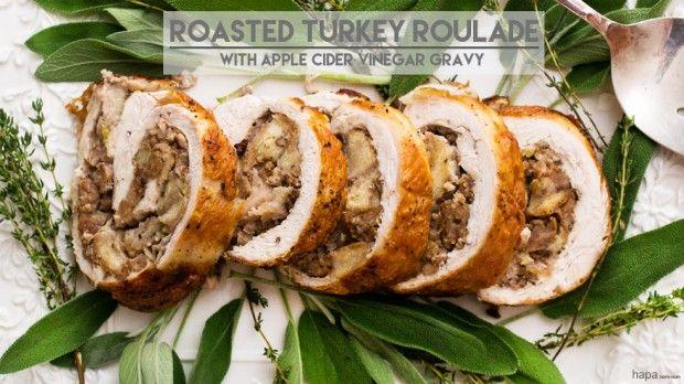 roasted turkey roulade