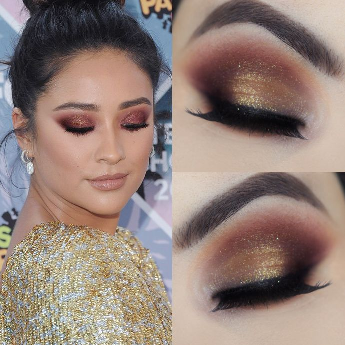 Shay Mitchell Makeup Tutorial Teen Choice Awards                              …