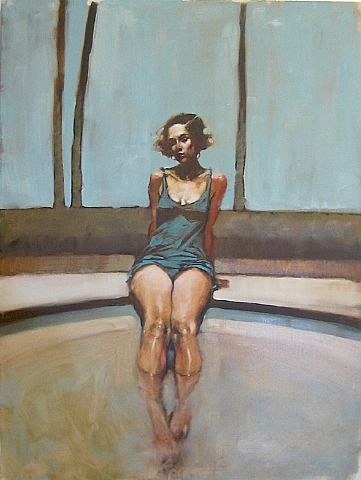 painting by Michael Carson