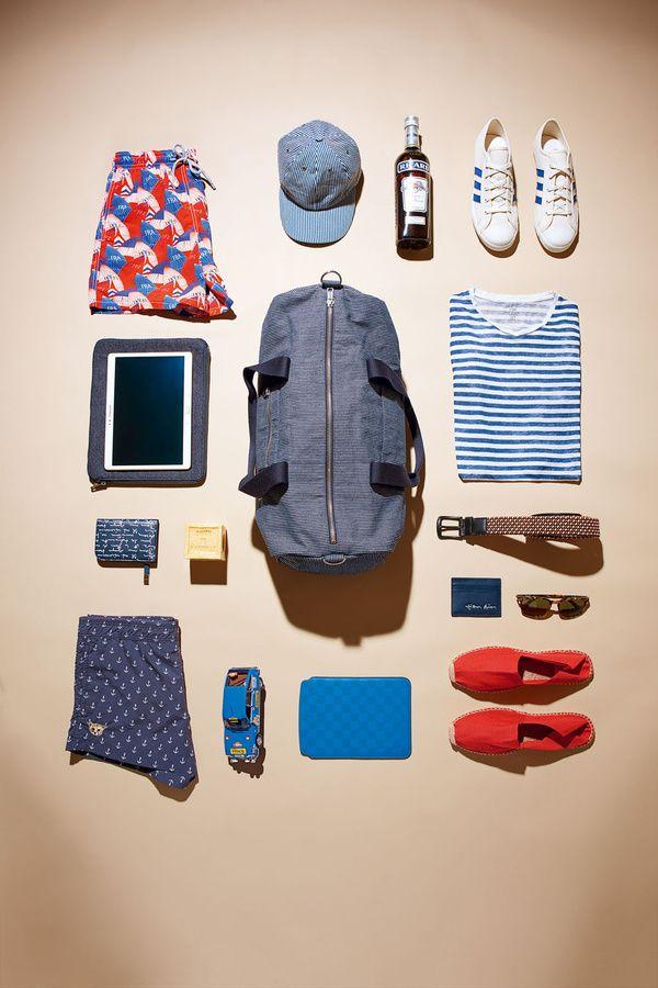 Destination Marseille - Selection mode homme et accessoires pour partir en week-end
