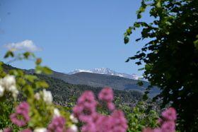 Location gîte calme avec jardin - Haute Provence Vieil Aiglun