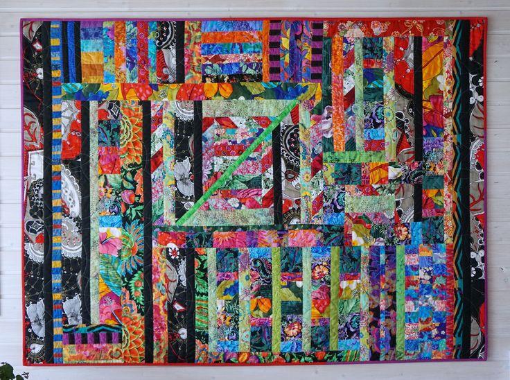 """Quilt: """"Ein bisschen Frida"""" meinequiltsundich.blogspot.com"""