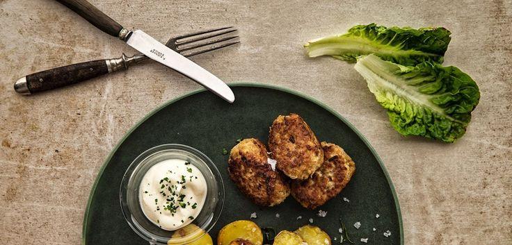 Vegansk mad: Klassiske frikadeller