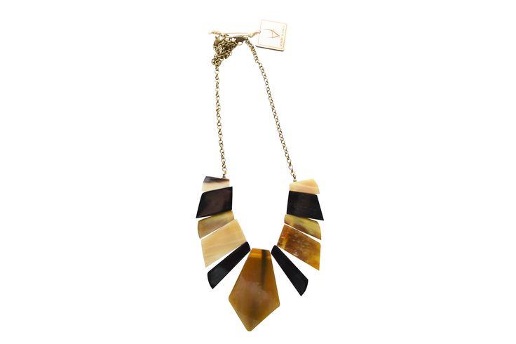 Photo of tribal necklace @ https://www.facebook.com/Aombymanga/