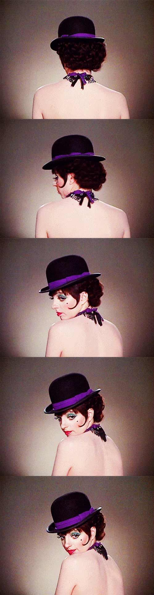 Liza Minnelli as 'Sally Bowles' in Cabaret (1972)