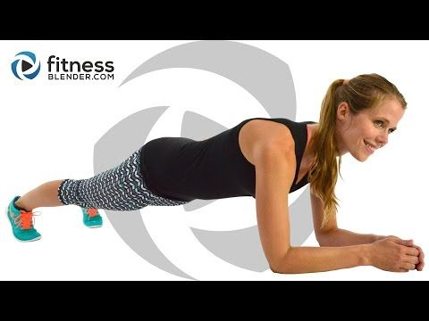 At Home Cardio Workout to Burn Fat & Tone (High & Low Impact Modifications) - YouTube