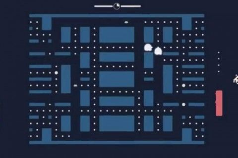 Pacapong = Pacman + Pong + Space Invaders