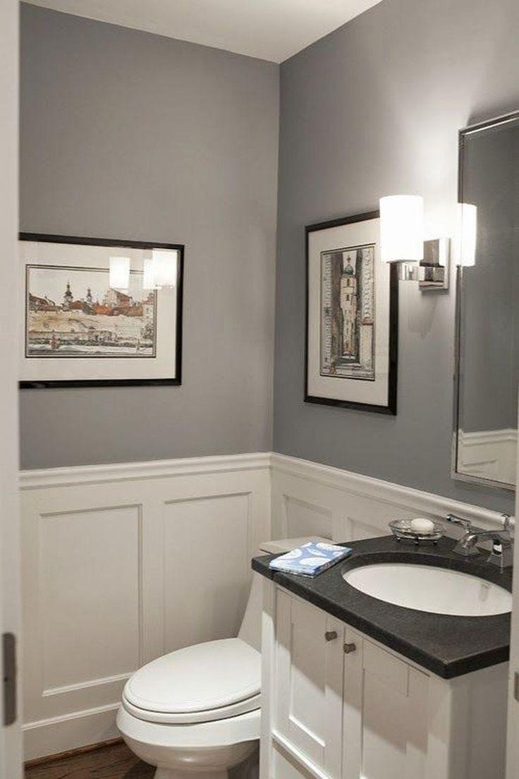 Interior designer and color specialist philippa radon loves c2's fandango. 20+ Efficient Small Powder Room Design Ideas - Hmdcr.com   Tiny bathrooms, Modern powder rooms