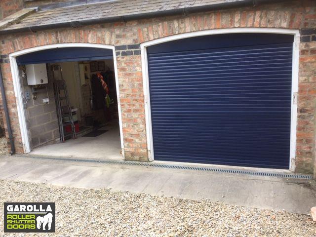 Blue Garage Door Garage Door Design Garage Doors Uk Garage Door Styles