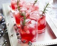 Cocktail framboise de luxe