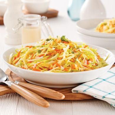 Salade de chou crémeuse - Recettes - Cuisine et nutrition - Pratico Pratiques