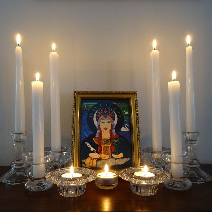Wiccan Wedding Altar: 137 Best Images About Imbolc On Pinterest