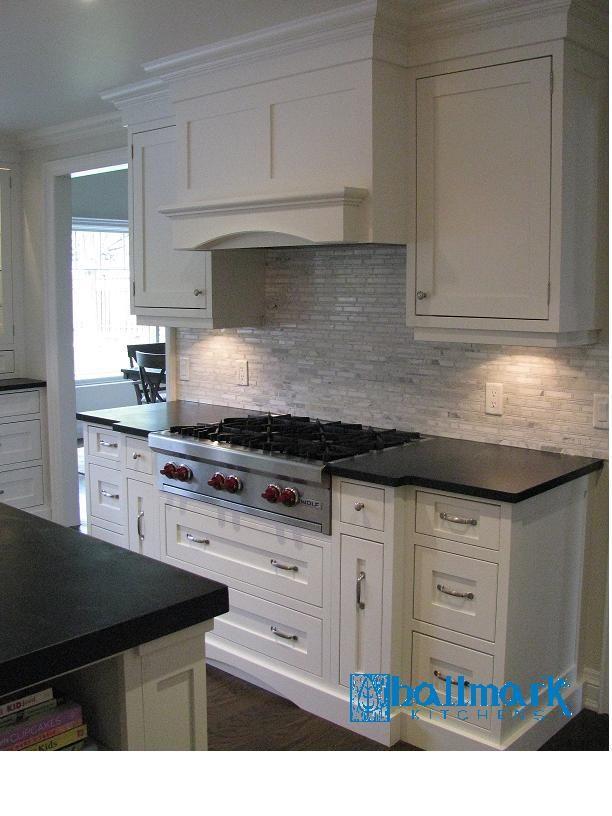 Inset doors/drawers - cooktop and custom hood