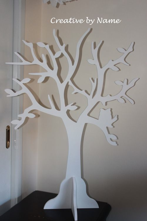 Wooden display tree - Owl tree