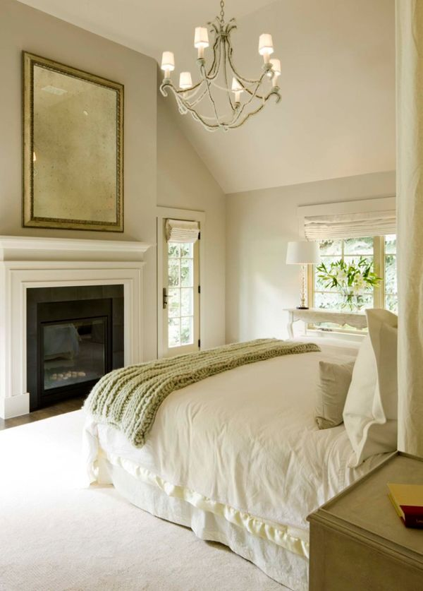 55 Spectacular and cozy bedroom fireplaces 36