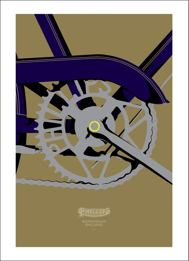PHILLIPS BICYCLE POSTERS - Bad English