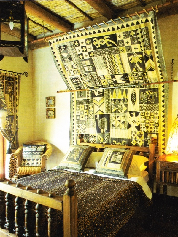 We Could Hang Ghana Blanket Like This In The Africa Bedroom