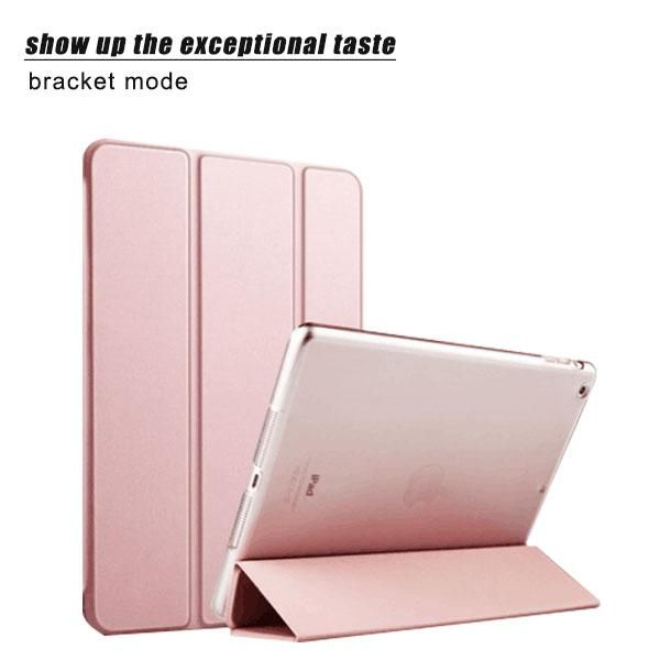iRepie Ultra thin Slim Smart Silk Leather Clear Cover Case For Apple i Pad 2 3 4 5 Air1 6 Air 2 Mini 1 2 3 4 Wake up Sleep Capa