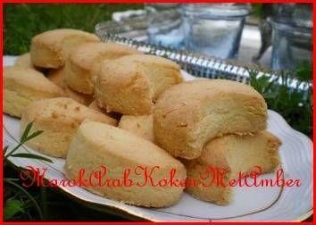 Eenvoudige Ghoriba (Marokkaanse Koekjes) recept | Smulweb.nl