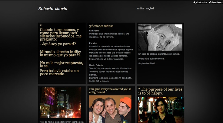 Roberto' Shorts:  http://robertoarancibia.tumblr.com
