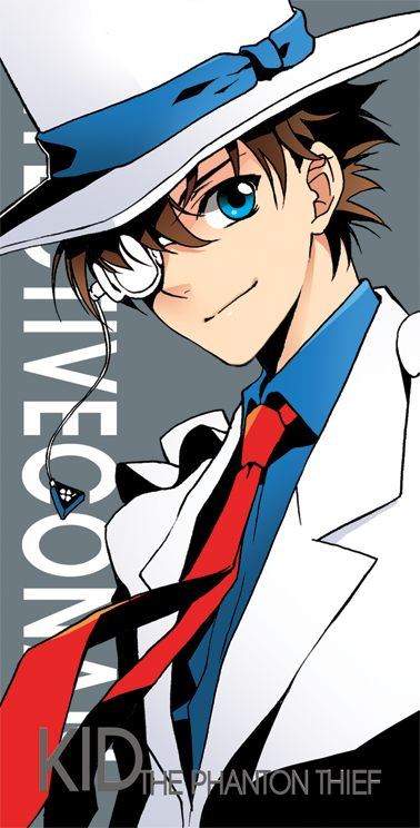 Detective Conan Case Closed Magic Kaito 1412 Kaito Kid The Phantom Theif Kuroba Kaito