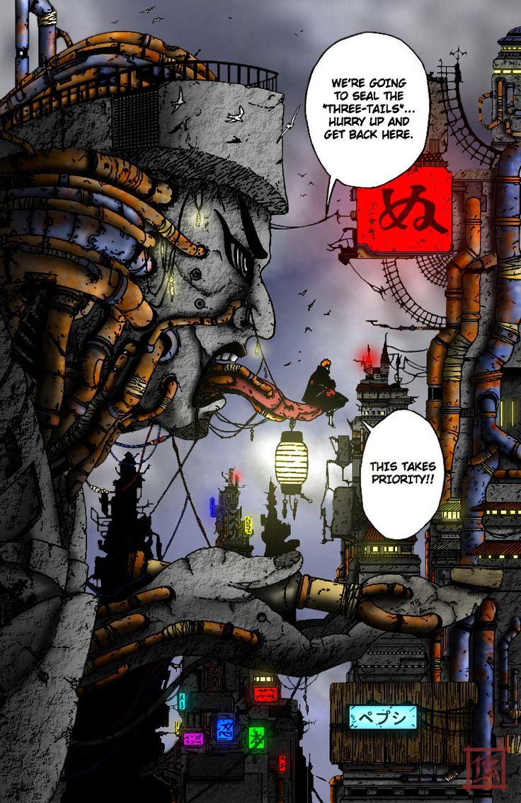 Amegakure by DaveFreeMan on DeviantArt | Wallpaper naruto shippuden, Anime naruto, Naruto uzumaki