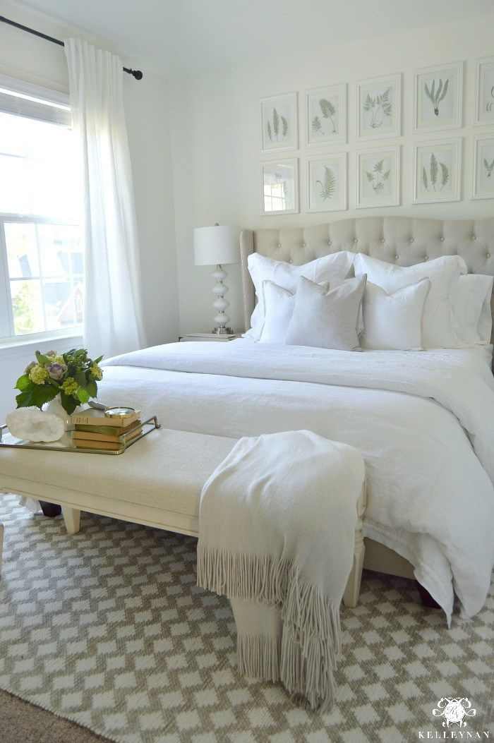 Best 25 white room decor ideas on pinterest white rooms for Bedroom quilt ideas