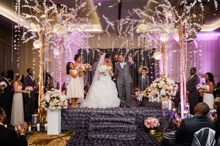 A Glam New Year's Eve Wedding at Renaissance Raleigh North Hills Hotel in Raleigh, North Carolina